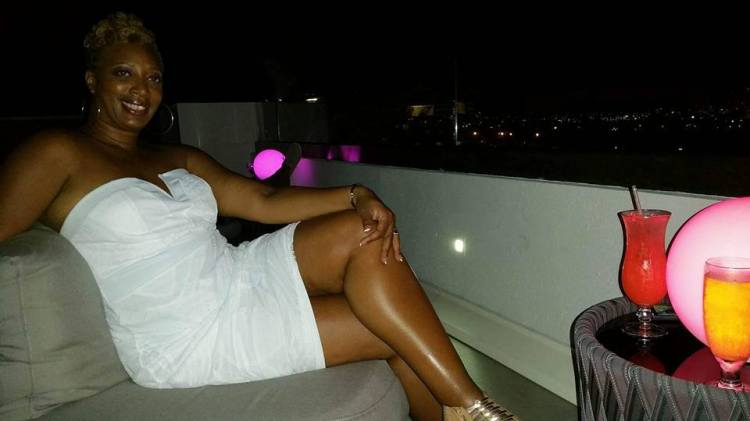 Tracy at Azul Rooftop Bar at Sonesta Ocean Point Resort St. Maarten